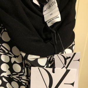DVF halter wrap dress